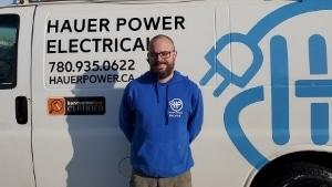 Hauer Power Team - Electrician Edmonton Daniel